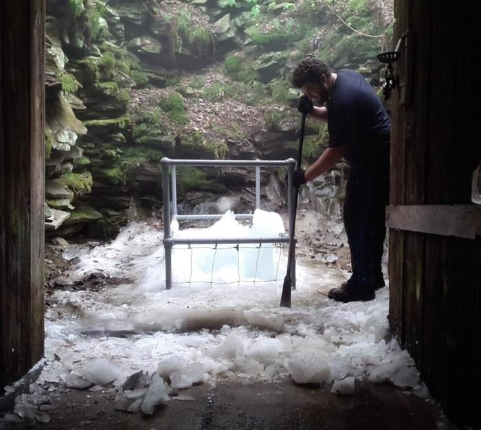 2. Coudersport Ice Mine