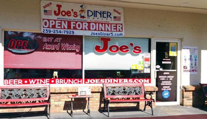 3. Joe's Diner, Naples