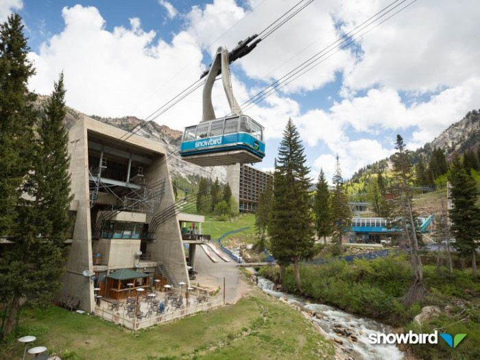 4. Snowbird Tram and Hike, Little Cottonwood Canyon