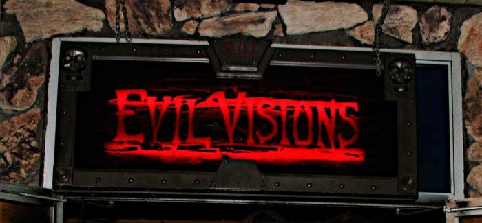 3) Evil Visions Haunted House, Monroe