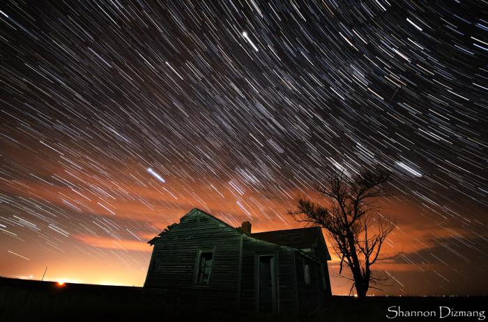10. Nighttime beauty in Briggsdale