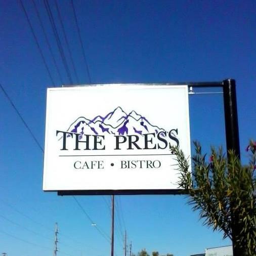 9. The Press Cafe & Bistro, Yuma