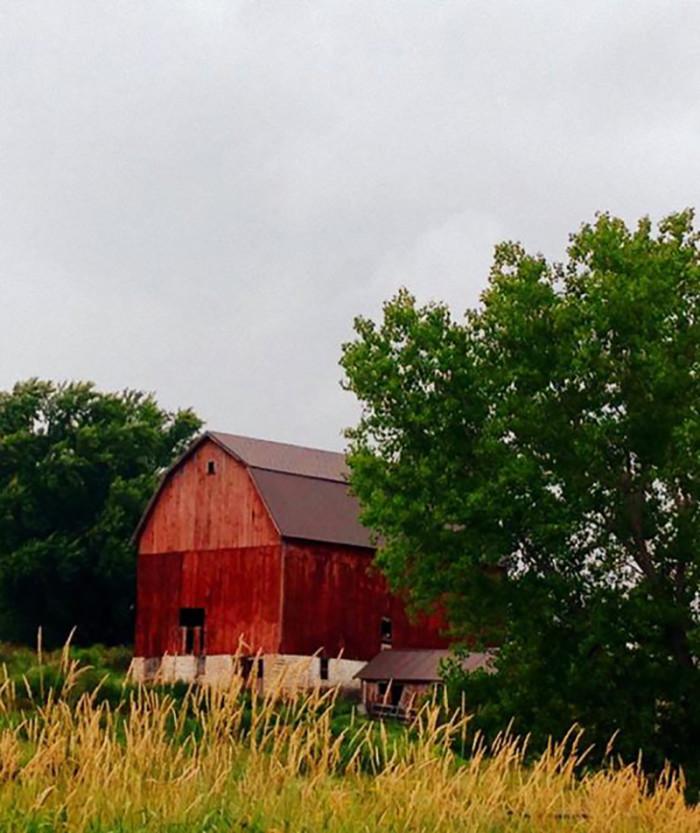19. Lori Faircloth took a wonderful barn photo.