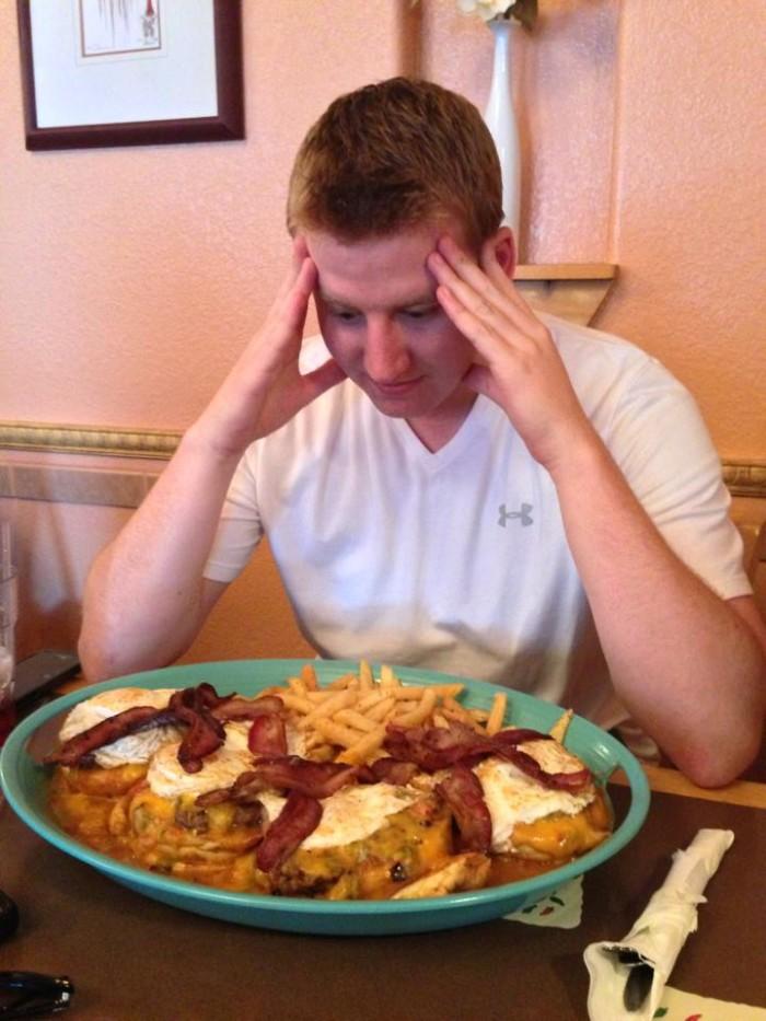 7. The Ultimate Super Slopper Challenge at Cactus Flower Mexican Restaurant (Pueblo)
