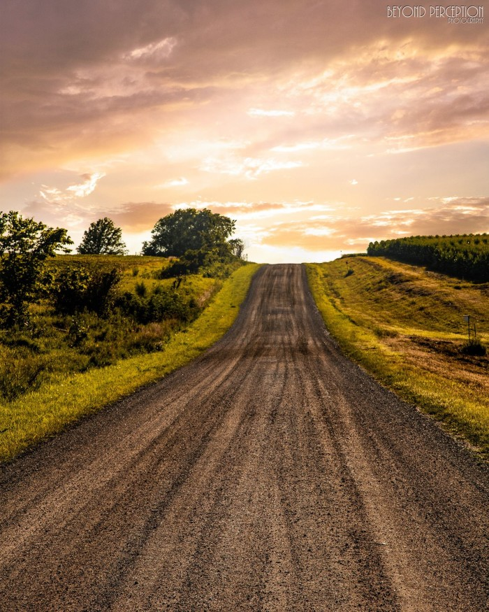 21. This long road is obviously the beginning of a magical journey to somewhere....