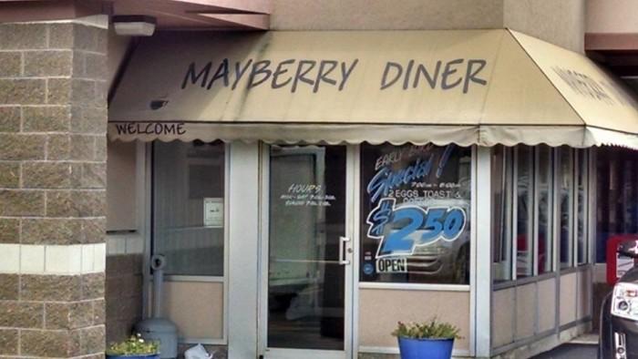6. Mayberry Diner (Sylvania)