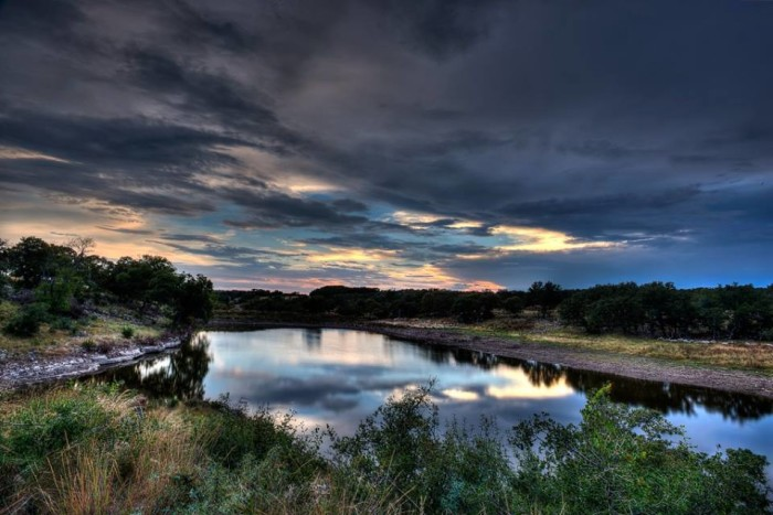 12) A breathtaking photo of Winding Falls Ranch, taken by Justin Cop.