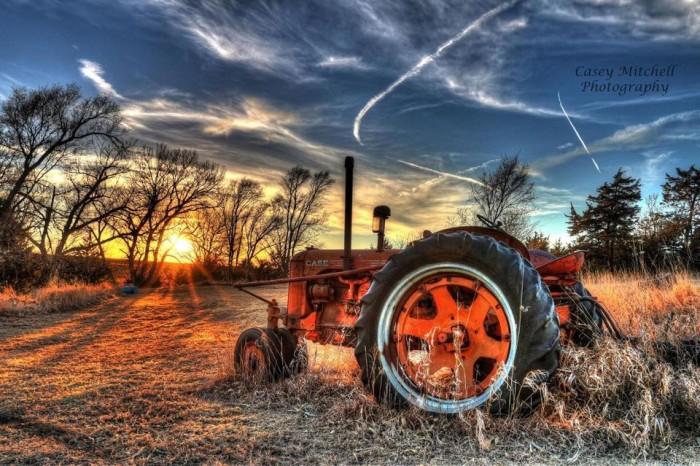 14. A signature Nebraskan scene.