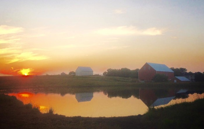 5. This is the type of idyllic rural Nebraska scene that brings people here to stay forever.