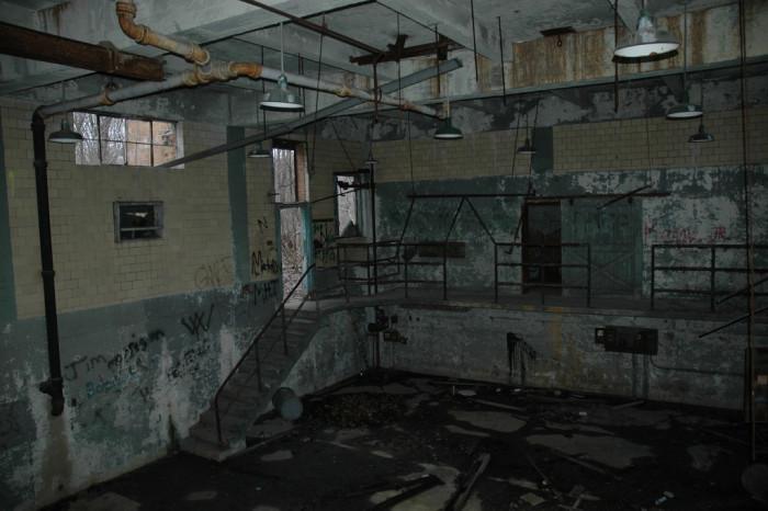 8. The abandoned Lima Tuberculosis Hospital