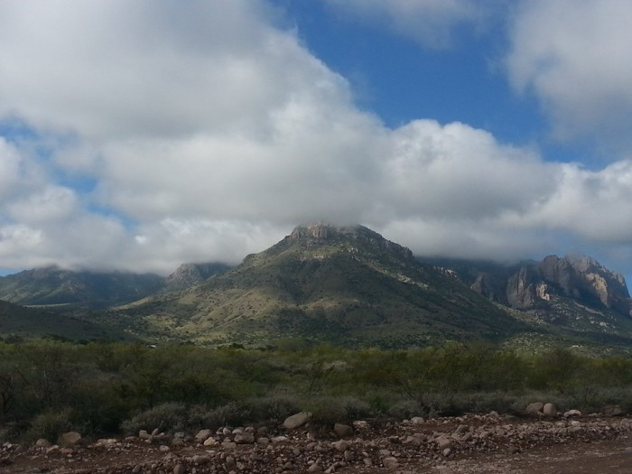 19. This is a lovely view in Portal, a tiny community near the Chiricahua Mountains.