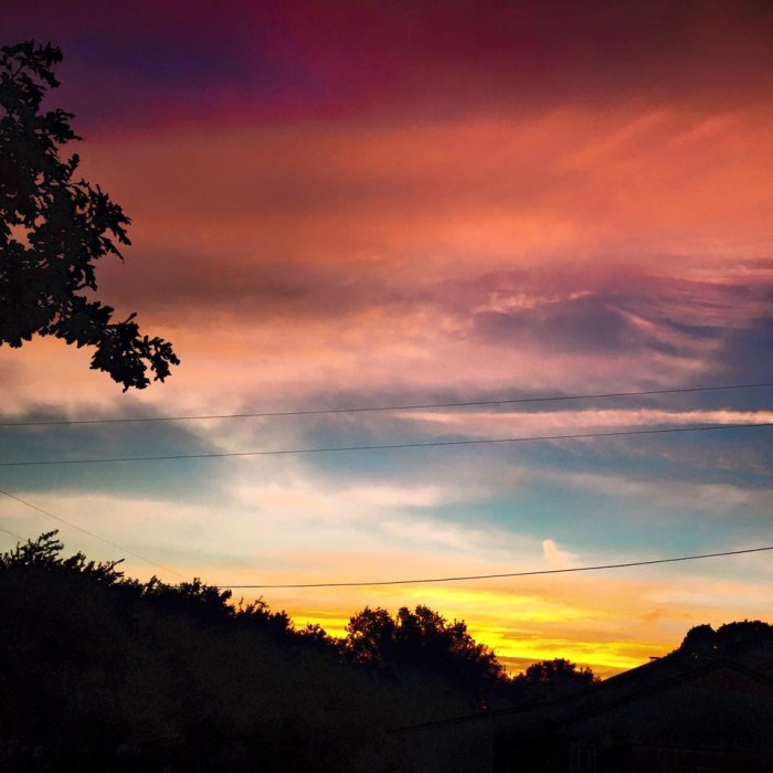 10) Todd Bruder captures the stunning Pflugerville sky again at sunset.