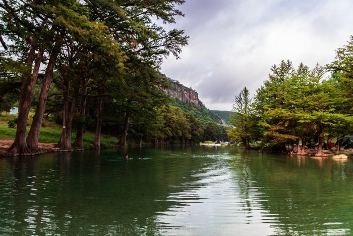 4) A beautiful shot of the Frio River in Concan, TX. Taken by Albert Andrade.