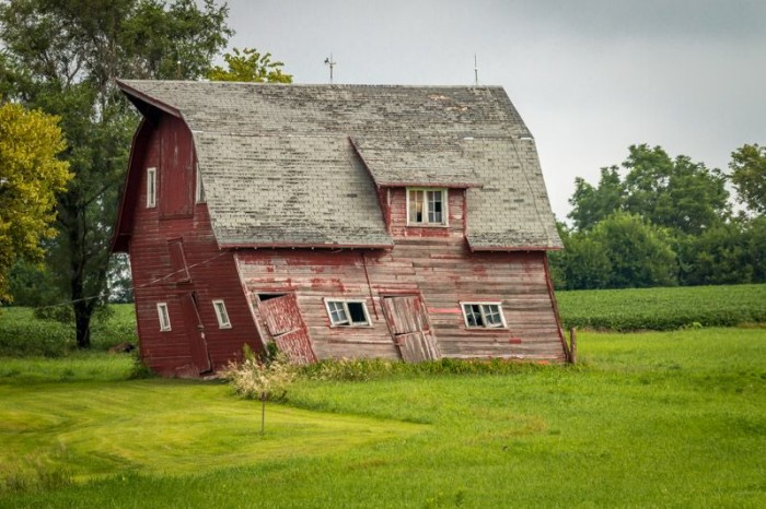 14. We love this barn - it kind of embodies that never-say-die attitude that makes Nebraskans so tough.