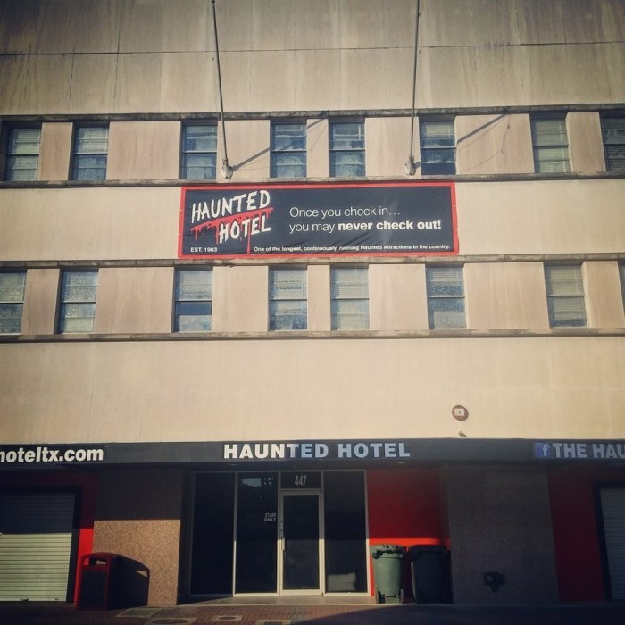 4) The Haunted Hotel (Beaumont)