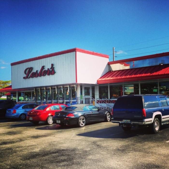 2. Lester's Diner, South Florida
