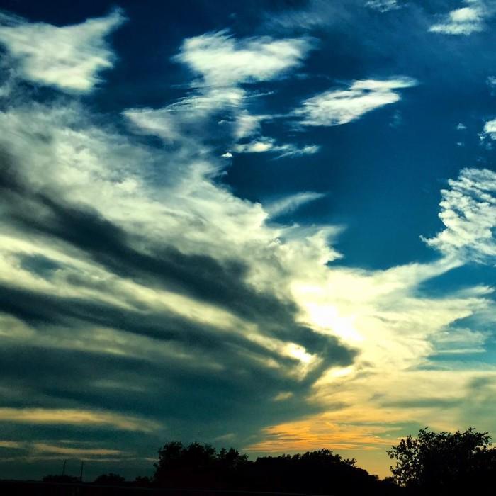 7) The skies over Pflugerville are something else...taken by Todd Bruder.