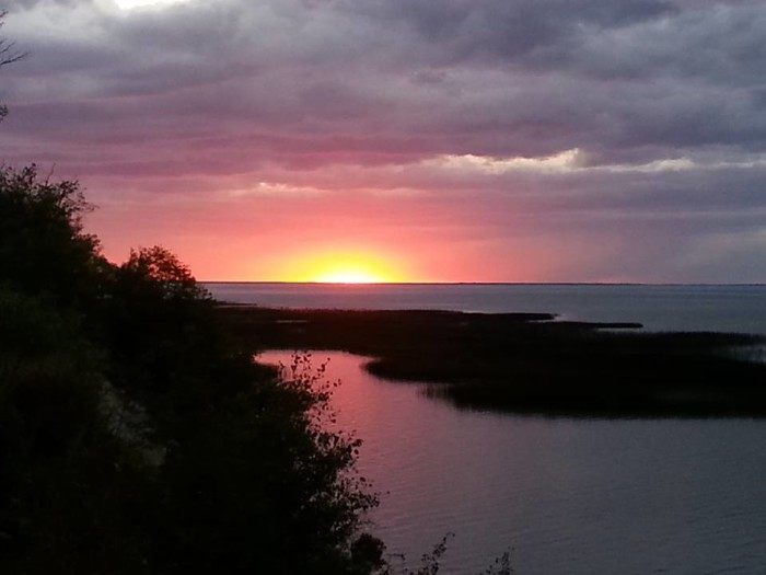17. This Lower Red Lake sunset is one of a kind. Photographed by Laurel Lussier.