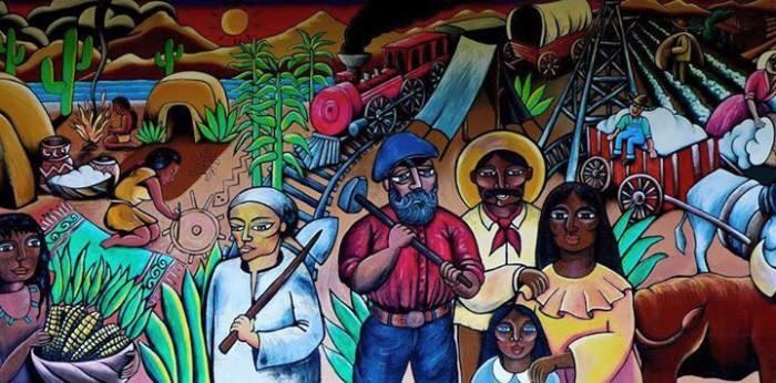 2. This gorgeous mural sits in downtown Casa Grande and was painted by the local high school students. A beautiful depiction of our state's cultures.