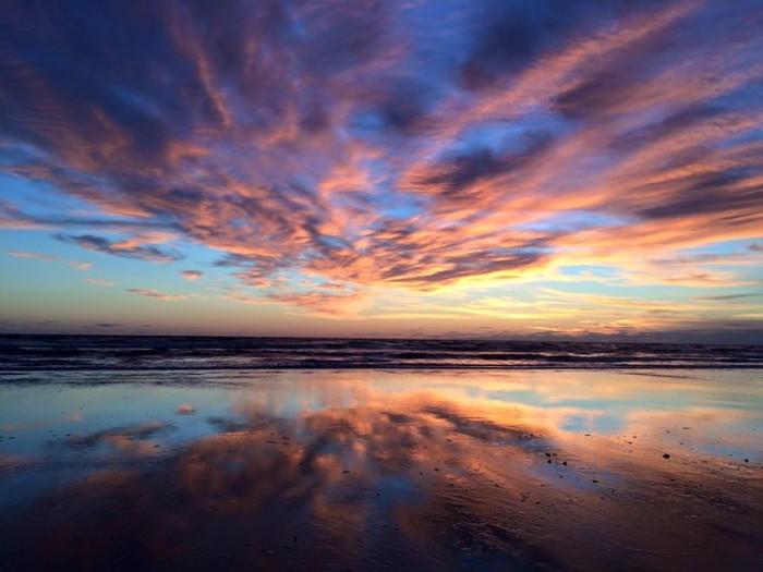 7. Eddie Carruth captured this colorful sunrise in Daytona Beach