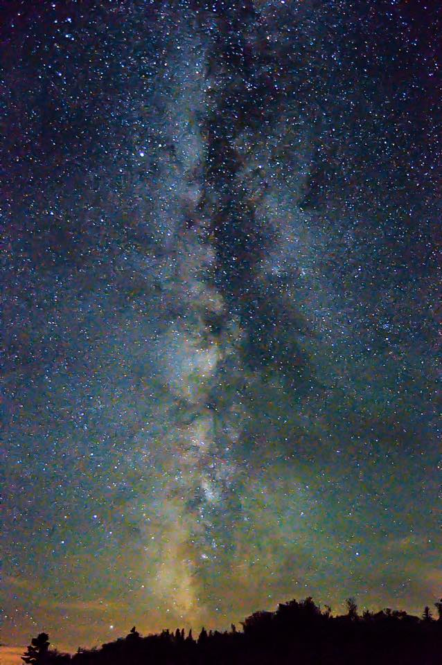 17. The amazing night sky at Cherry Springs State Park.