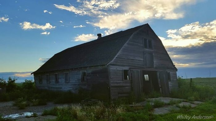 3. Whitey Anderson photographed this weathered and worn beauty near Buffalo Center.