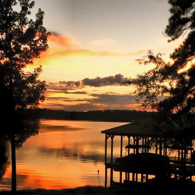 1) Brenda Gail Wallis captures this breathtaking sunset at Lake Nacogdoches.