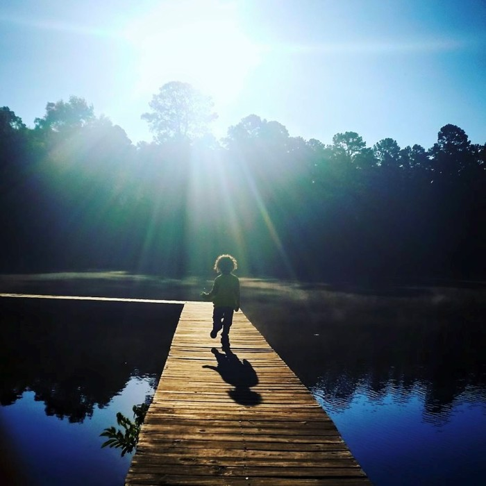 10) This charming photo perfectly captures the essence of childhood, taken at Holly Lake Ranch, Texas by Lyndsey Whitmore!