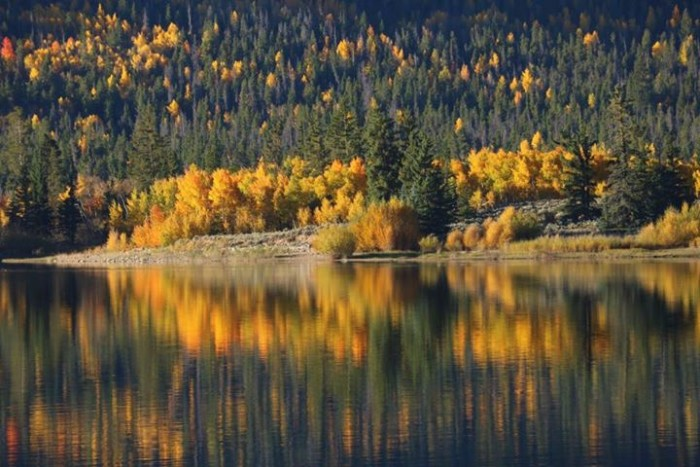 4. Fabulous fall at Twin Lakes.