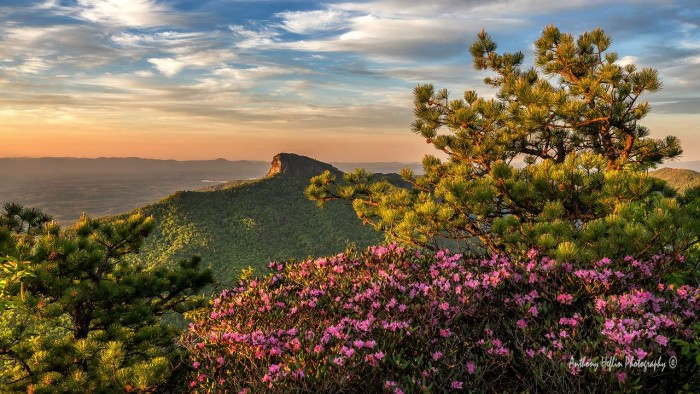 """6. """"First Light, Table Rock Mountain"""" captured by Anthony Heflin."""