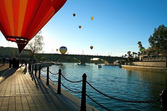 1. Sabrina of Lake Havasu City is already looking forward to the city's annual Hot Air Balloon Festival held every January. I would love to go as well!