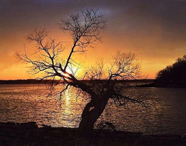 10. Peaceful Perry Lake.