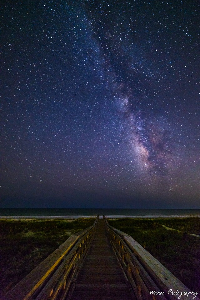 "8. ""Walkway Beneath the Stars."""