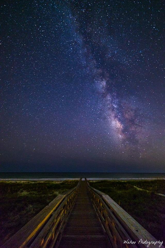 "4. ""Walkway Beneath the Stars."""