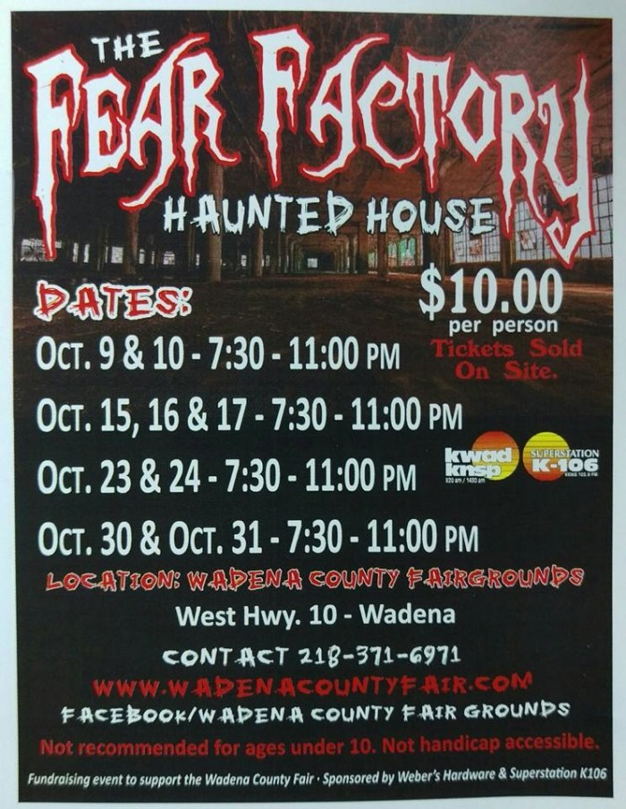 15. The Fear Factory Haunted House