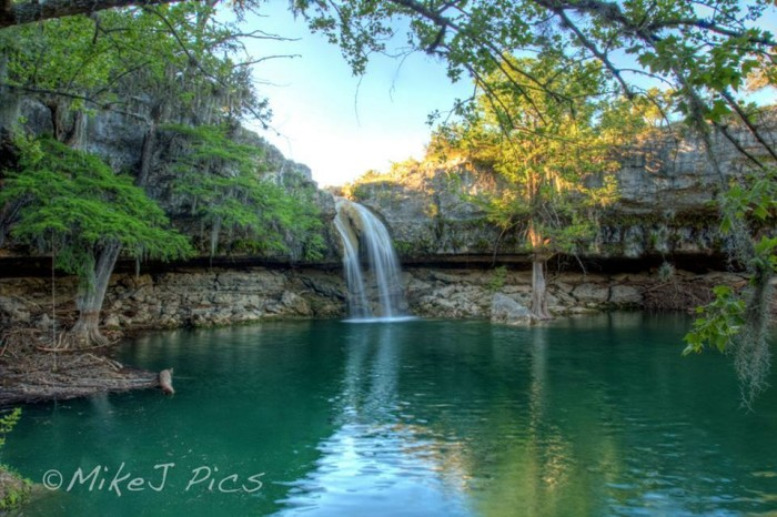 14) Edge Falls in Kendall County looks mighty beautiful in this photo! Taken by Mike Jones as well.