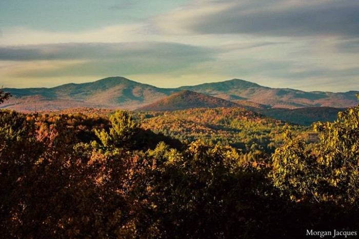 13) The definition of the mountains from Hubbard Park tower is incredible in this shot by Morgan D. Jacques.