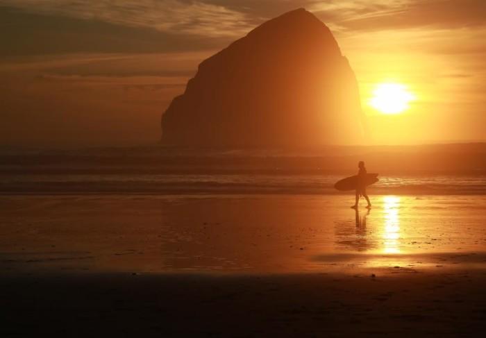 13) Sunset at Cape Kiwanda photographed by Caitlin Callahan.