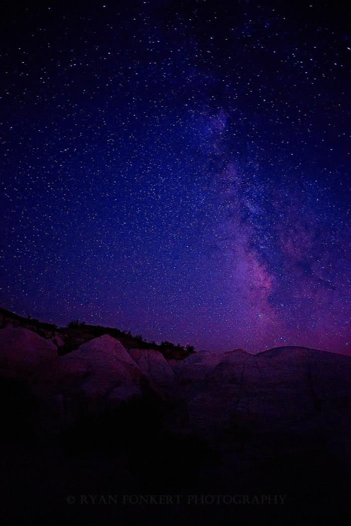 13. Painted skies over Paint Mines