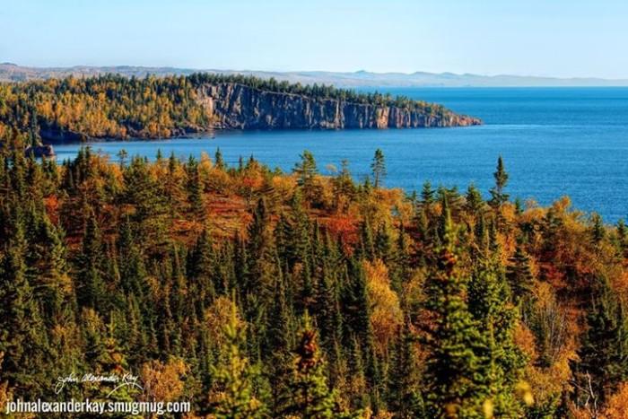12. John Alexander Kay photographed a beautiful fall day at Shovel Point.