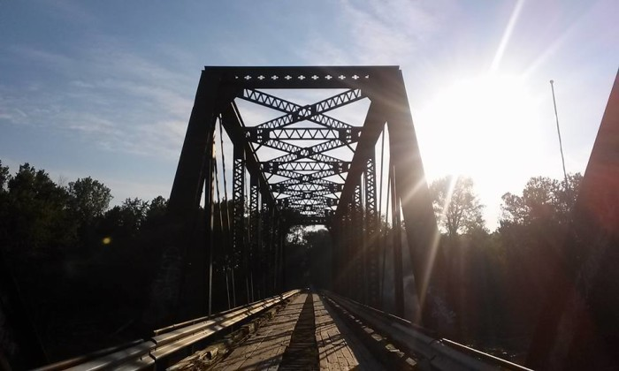 8. Sarah McKinley‎ shared a picture of the Wabash Cannonball Bridge with us!