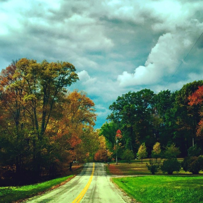 13. Ashland County in the fall