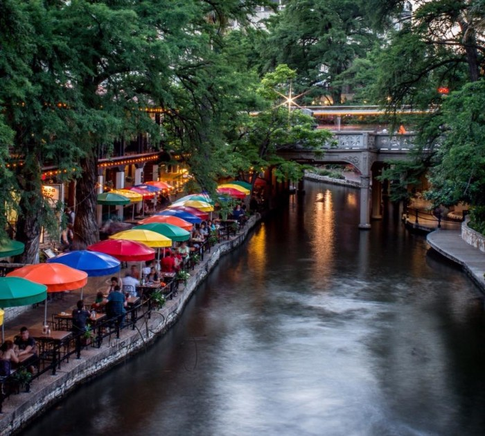 10) A stunning view of the San Antonio Riverwalk taken by Julie O'Daniel Glenn!