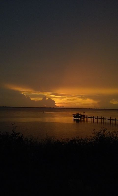 22. Thanks to Lisa Timmerman for this photo of the sunrise over the Indian River in Palm Bay Florida.