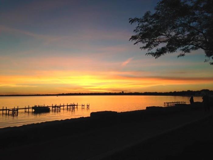 10. Carissa Okones shared this beautiful shot of a sunset at Clear Lake.