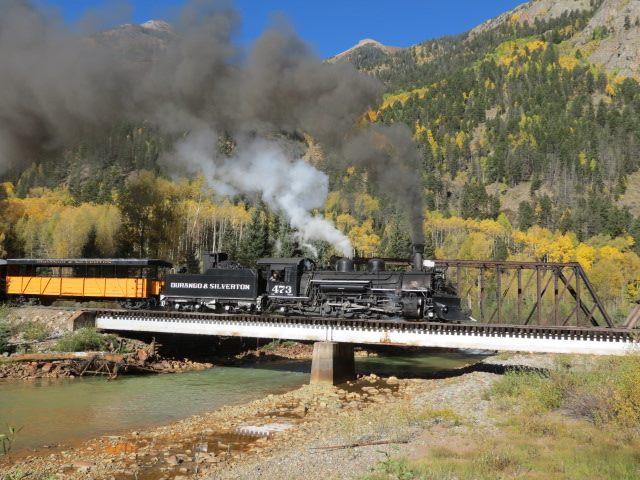 2. The mighty Durango & Silverton chugging right along.
