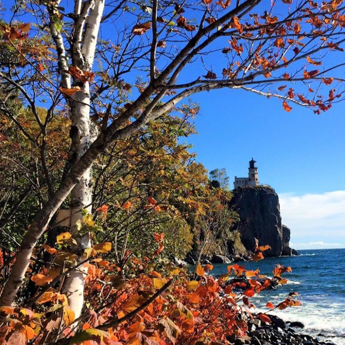 16. It's just not a Minnesota photo post without a classic Split Rock Lighthouse photo and this week Kari Grefsrud amazed us with the fall colors!