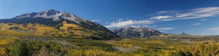 6. Gorgeous Kebler Pass.