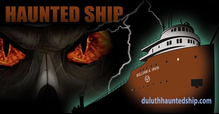 22. William A. Irvin Haunted Ship