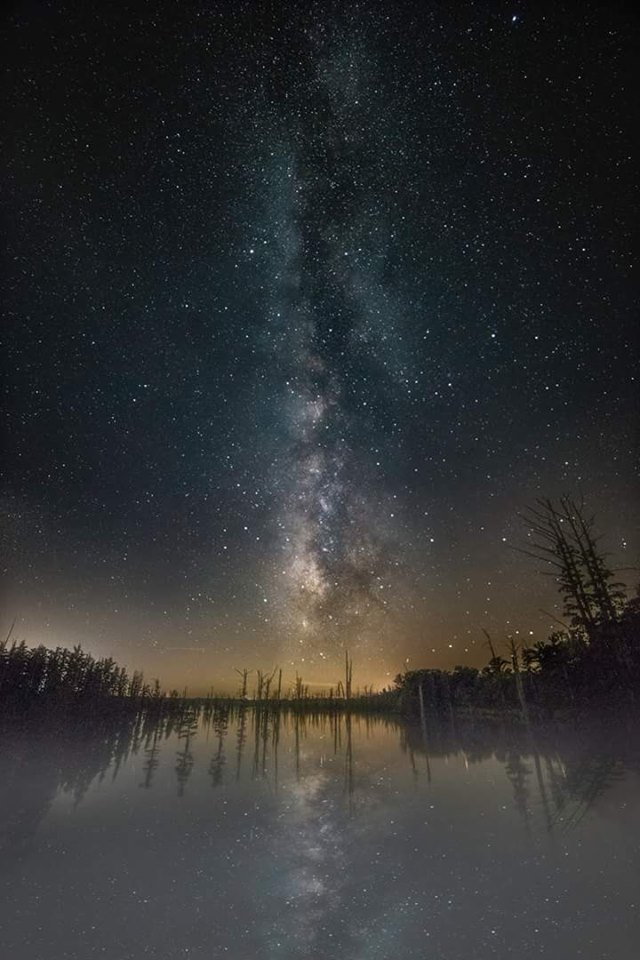 16. Josh Cornelius shared an incredible piece of a starry sky over Hovey Lake. Who knew you could see something so amazing in our Hoosier state?
